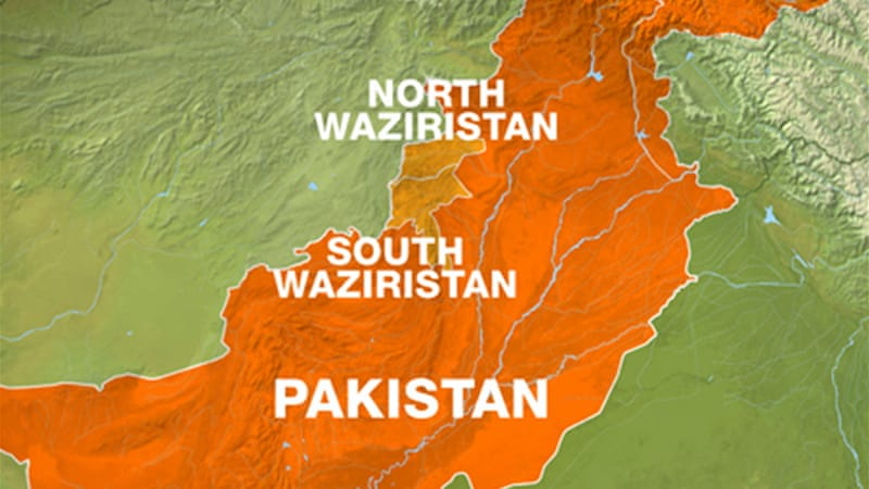 The tribal areas of North and South Waziristan are staging areas for the Taliban insurgency [Al Jazeera]