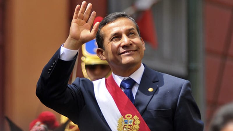 Ollanta Humala has reportedly angered many of his supporters by adopting neoliberal economic policies [Reuters]