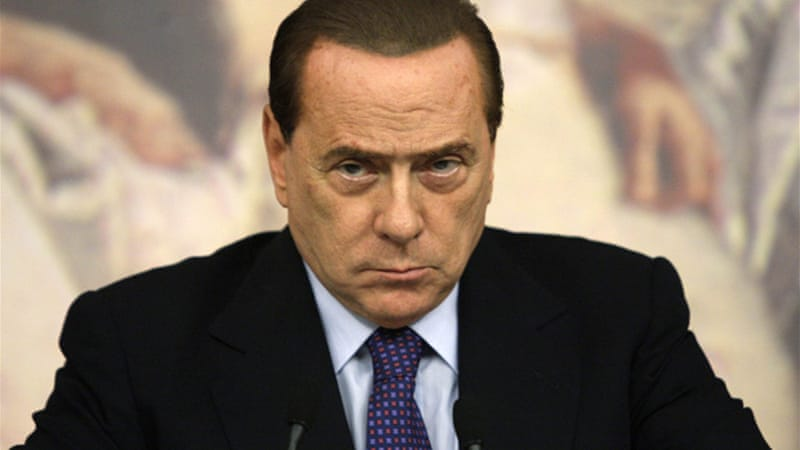 Berlusconi's last government ended in November 2011 under pressure from financial markets [Reuters]