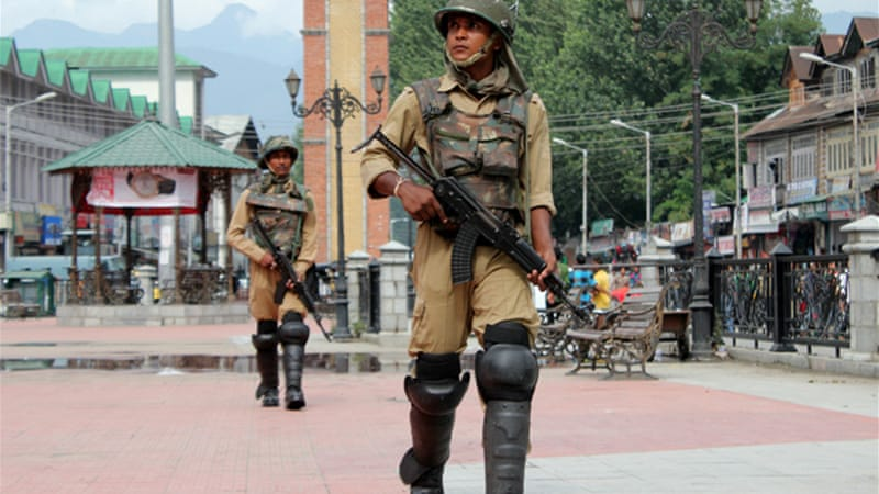 Kashmir remains among the most militarised trouble-spots on earth [Showkat Shafi/Al Jazeera]