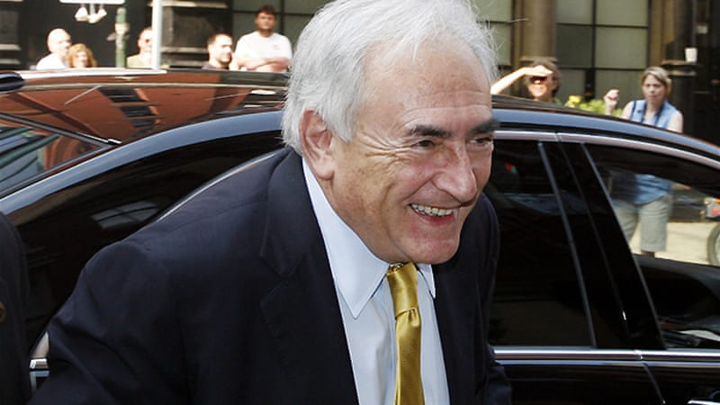 Strauss-Kahn is facing preliminary charges of aggravated pimping in a prostitution probe in Lille [AFP]