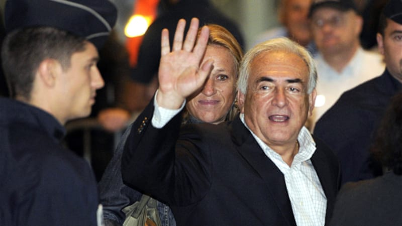 Dominique Strauss-Kahn faces preliminary charges for being involved in a prostitution ring in France [AFP]