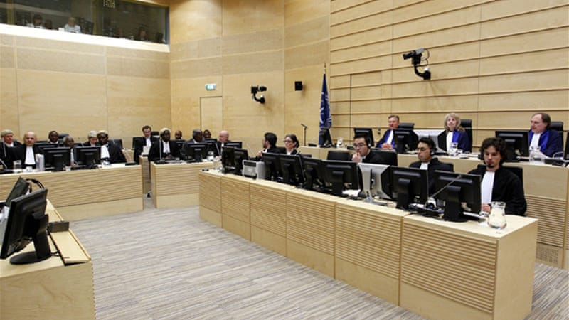 The ICC cleared one of the last hurdles in the path of putting the four accused on trial [EPA]