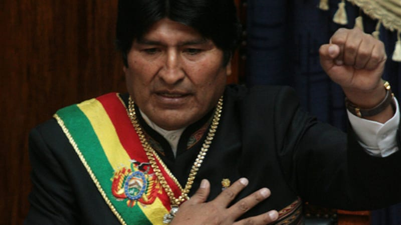 Opposition leaders say the ruling is evidence that Bolivia's courts are under Morales' sway[Reuters]