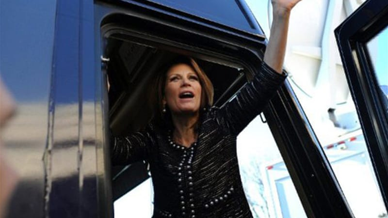 Michele Bachmann has accused Hillary Clinton's deputy chief of staff of ties to the Muslim Brotherhood [Reuters]