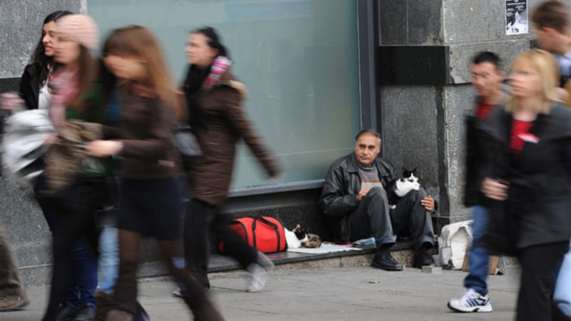 Unemployment in Spain is at the highest with 23.6 per cent [Reuters]