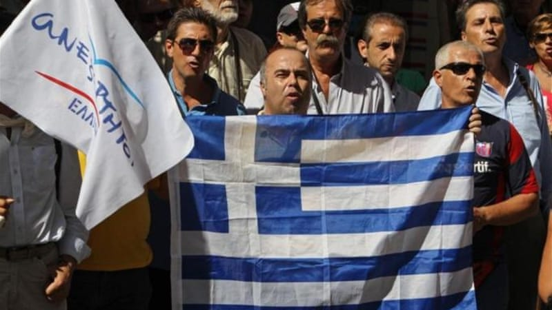 Greece may not receive the next round of agreed aid package that would save it from bankruptcy [Reuters]