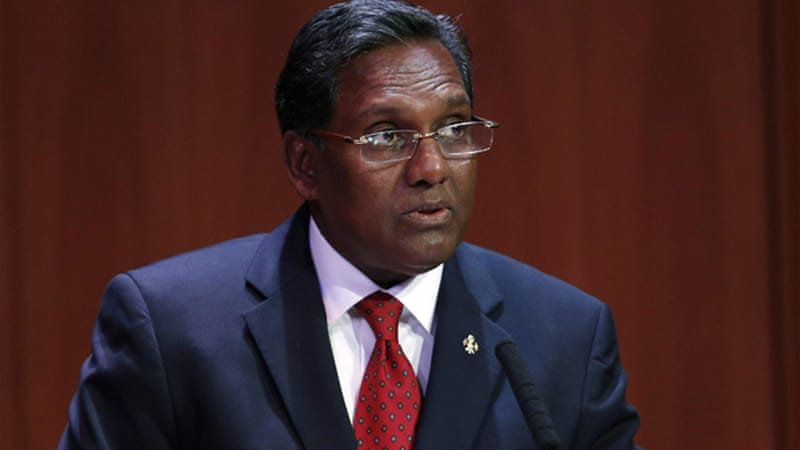 Mohamed Waheed, Nasheed's deputy, replaced him as president of the Indian Ocean island nation [Reuters]