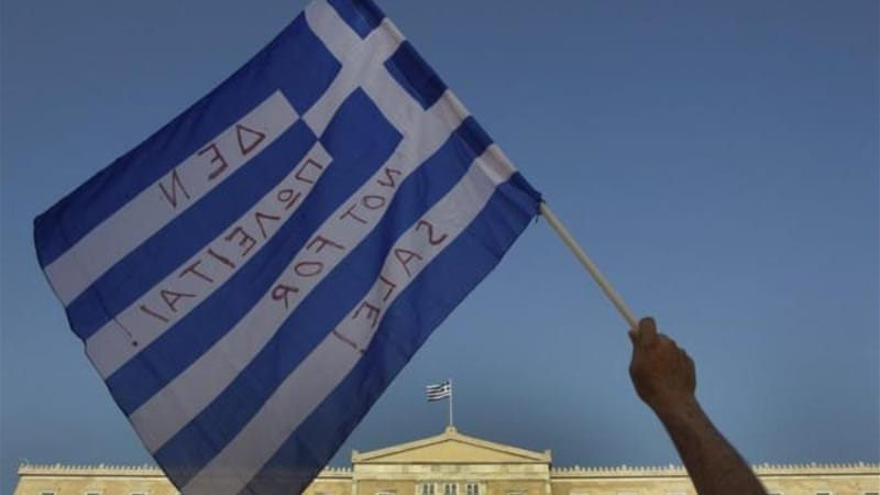 Protesters have been rallying against austerity economic measures and corruption in Greece.  [Reuters]