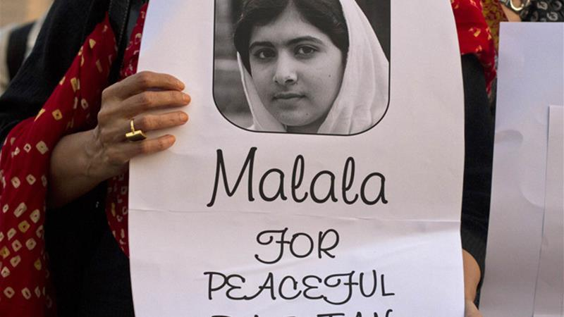 Who in Pakistan should have protected Malala?