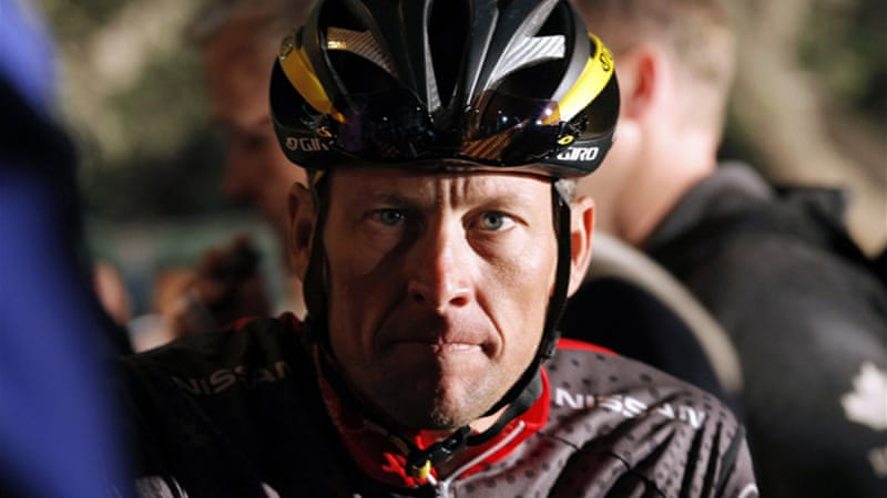 Armstrong's reputation as the cancer survivor who claimed a record