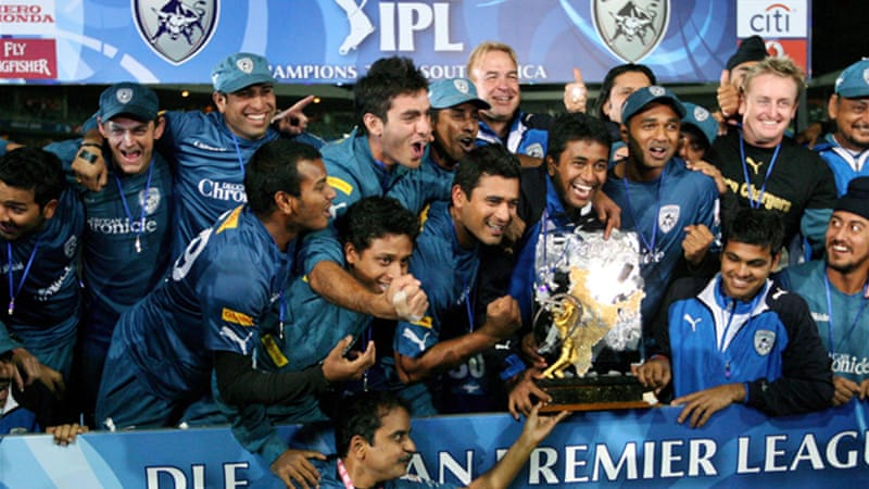 The Chargers won the Indian Premier League in 2009 but finished second-from-last this season [EPA]