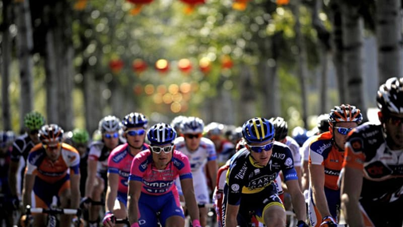 The Tour of Beijing is China's first World Tour event, and marks the last tour of the racing season [AFP]