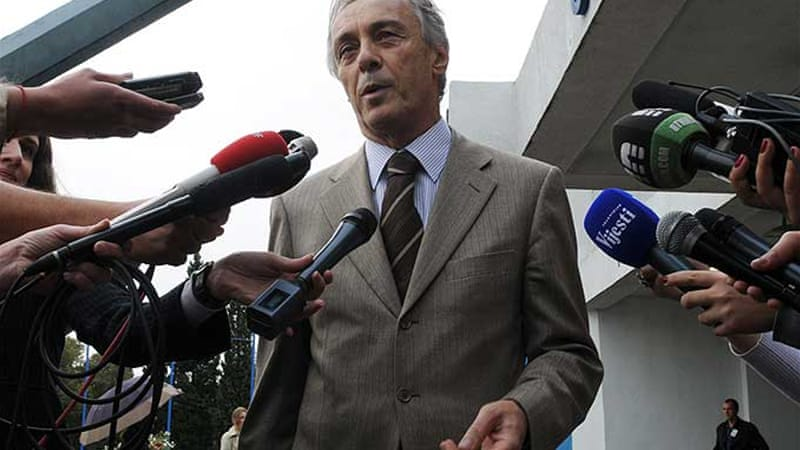 Opposition leader Miodrag Lekic had raised the issue of high unemployment rate and corruption [AFP]