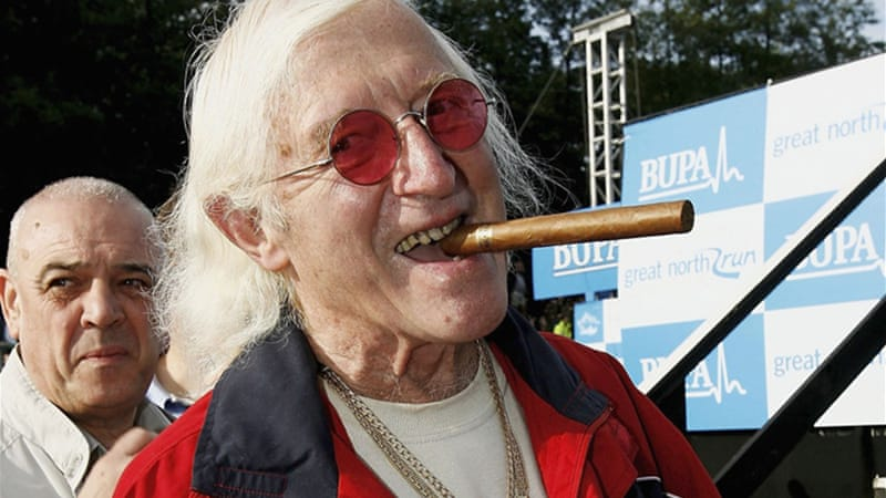 """Jimmy Savile was a prolific and vicious abuser of children,"" says author [GALLO/GETTY]"