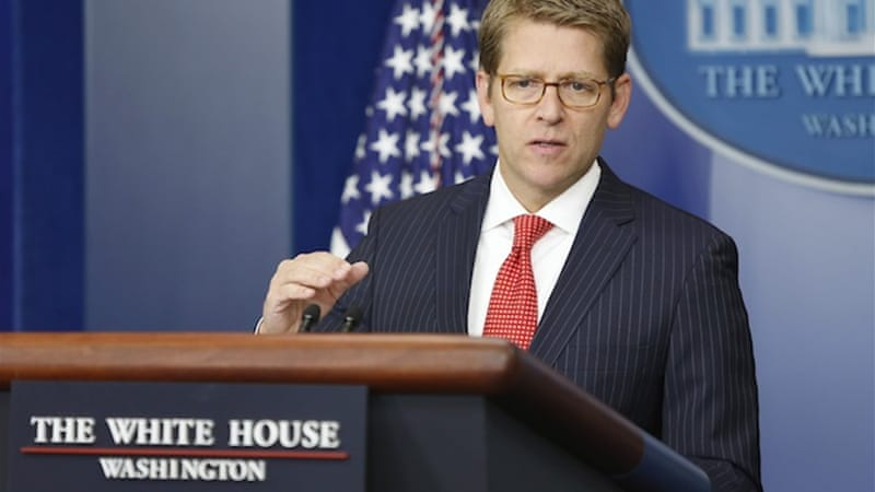 Jay Carney, the White House spokesman, described the attack as 'spear-phishing' [Reuters]