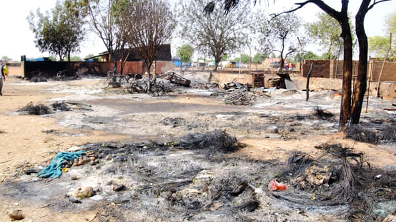 Boko Haram attacked the town of Potiskum on Saturday, leaving at least 23 people dead, medics said [AFP]