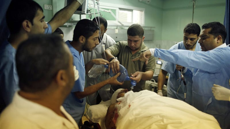 Israeli airstrikes have killed and wounded several people in Gaza in the last week [Reuters]