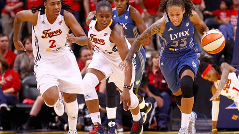 The victory in Game Four made it 3-1 to the Fever in front of a sold-out 18,000 crowd in Indianapolis [AFP]
