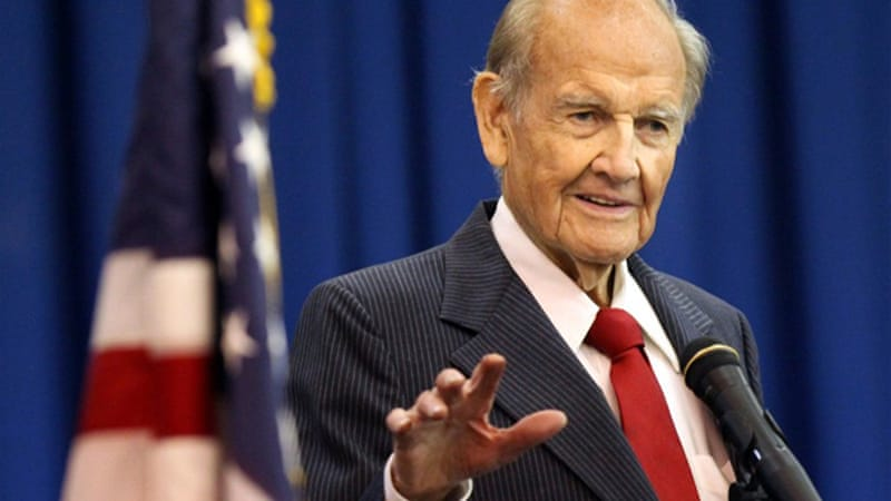 George McGovern had moral and political courage that really counted in his political career [AP]