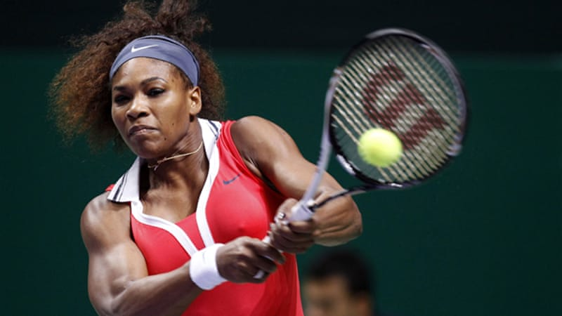 Williams - who is seeking her third title of the year - was never challenged by the fourth-ranked Agnieszka Radwanska [Reuters]