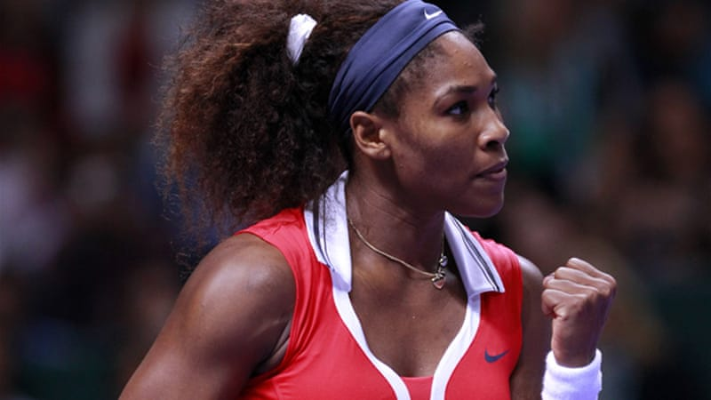 Williams won Wimbledon, Olympic gold and the US Open this summer before triumphing in Sunday's WTA Tour finale [EPA]