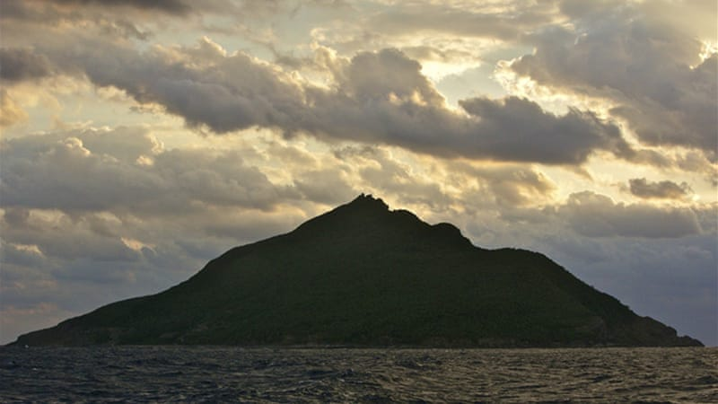 The chain of uninhabited islands has been claimed by Japan and China for more than 100 years [Steve Chao/Al Jazeera]