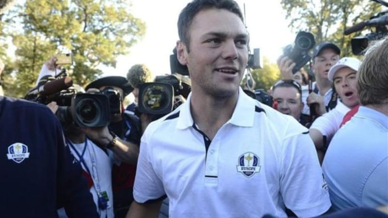 Kaymer had the spotlight at this year's Ryder Cup after he holed the winner for Europe against the odds [EPA]