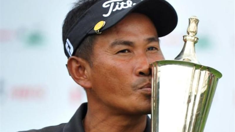 Thaworn Wiratchant is leading Asian Tour but is doubtful ahead of event in China [AFP]
