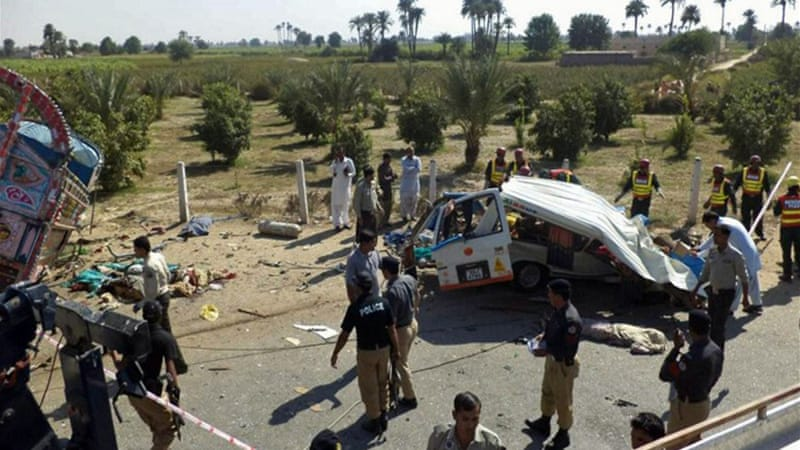 Though Pakistan has a well-developed highway system, drivers often ignore basic safety rules [AFP]