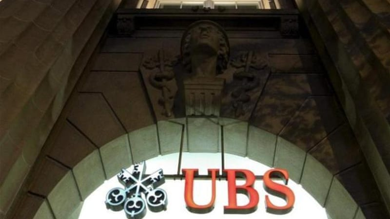 UBS was one of the banks hardest hit during the global financial crisis, needing a $42bn bailout [Reuters]