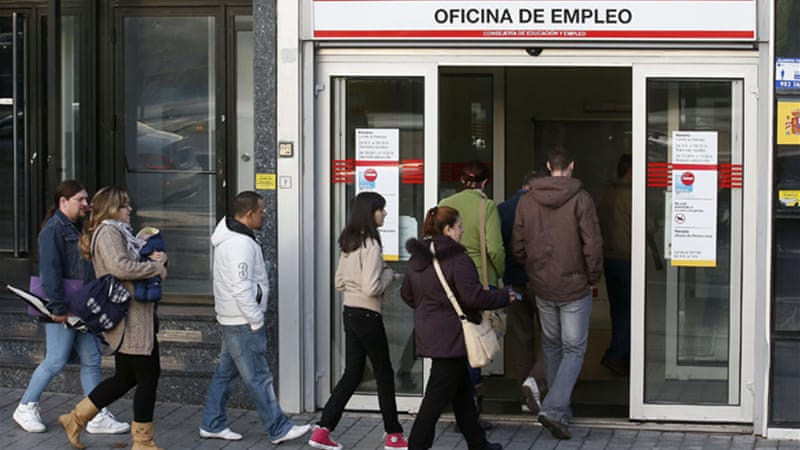 Unemployment rates from the Labour Ministry indicate a 2.7 per cent rise in unemployment rates [Reuters]