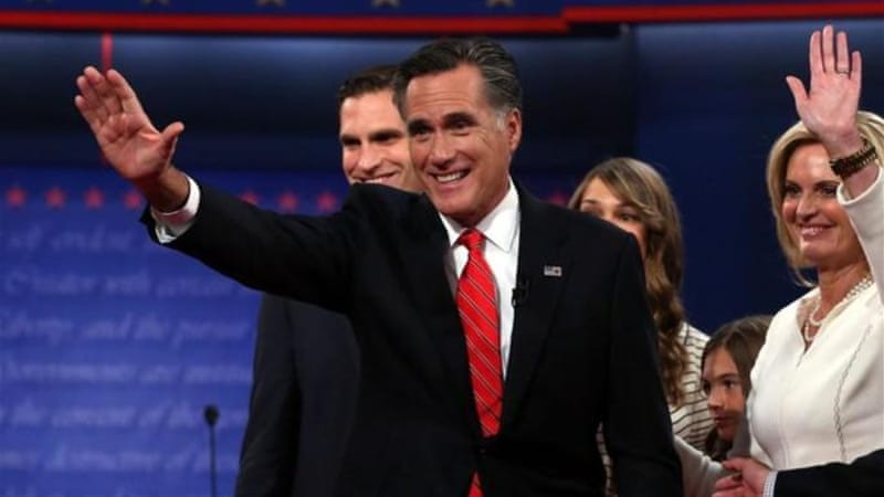 """Romney's flaws have revealed Obama's own shortcomings as president,"" says author [GALLO/GETTY]"