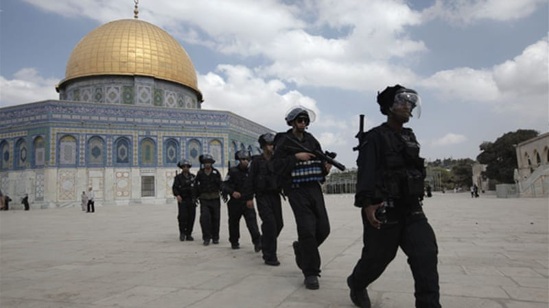 Jerusalem's Al-Aqsa Mosque compound is one of Islam's holiest sites [AFP]