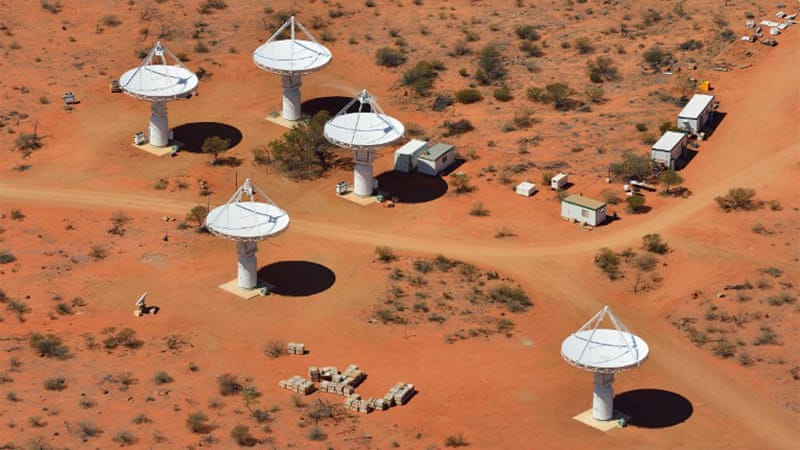 Australia's science minister said the ASKAP will be 50 times more powerful than current radio telescopes [AFP]