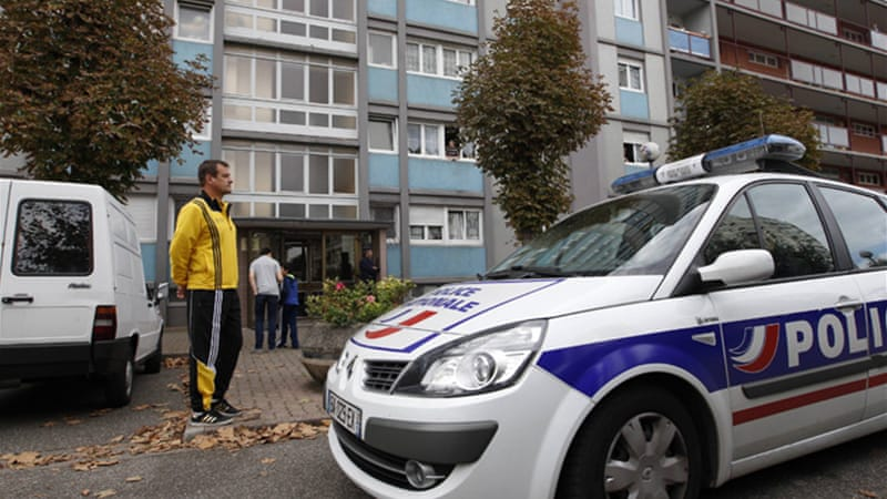 Police killed Jeremy Sidney in an exchange of fire in Strasbourg after finding his fingerprints on a grenade [Reuters]