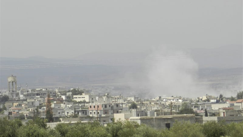 Syrian troops on Sunday pressed their offensive to retake rebel-held areas in Homs [AFP]
