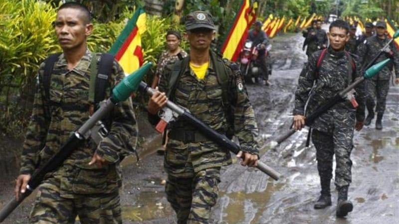 The Moro Islamic Liberation Front have waged a 40-year conflict with government forces [Reuters]