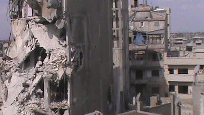 Opposition strongholds in Homs have been under siege for at least 120 days [Reuters]