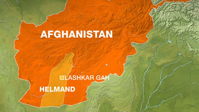 At Least Nine Afghan Policemen Killed In Air Strike