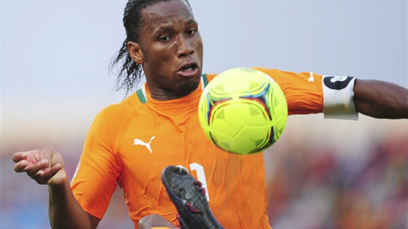 Ivory Coast are hot favourites for the title and their star players, including skipper Didier Drogba, are desperate to end years of frustration, including two final defeats after penalty shootouts in the last four tournaments [EPA]