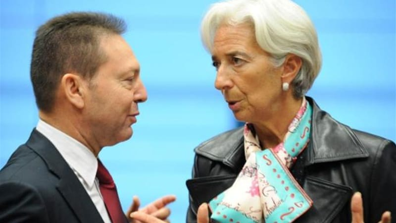 The IMF said greater integration of taxation and spending policies across the eurozone was needed [AFP]