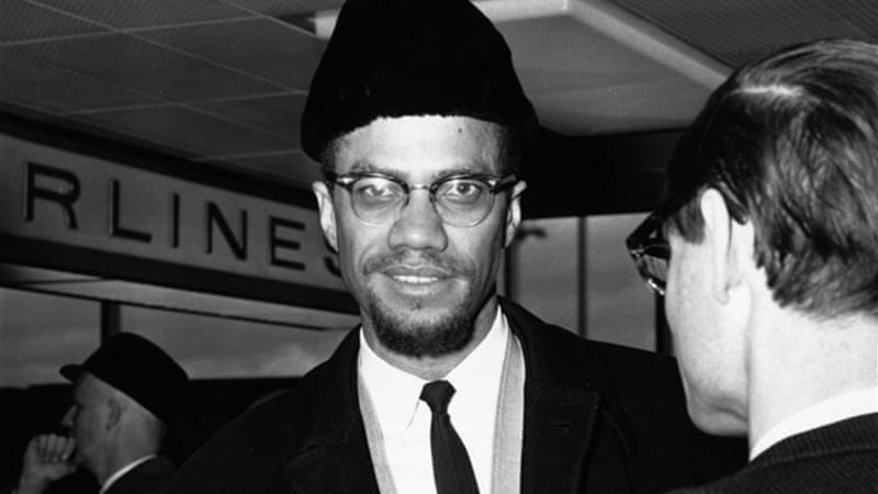 "Though Obama went to Cairo as an ""envoy of empire"" who sought to universalise American power, Malcolm X had gone there to ""internationalise black freedom struggles with those in the third world who were its victims"" [GALLO/GETTY]"