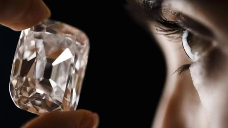 The diamond originally comes from the Indian state of Andhra Paradesh [Reuters]