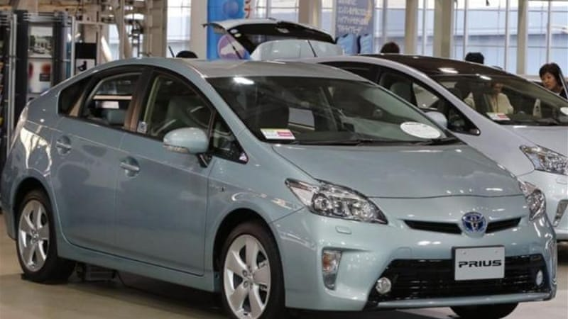 The latest recalls affecting Toyota's prized Prius hybrid [Reuters]