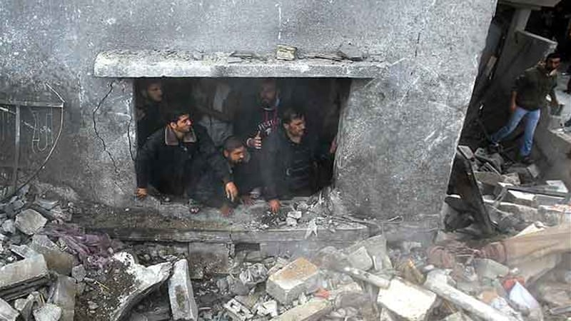 The death toll in Gaza within the past week has already reached over one hundred [AFP]