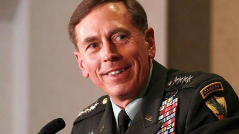 General Petraeus resigned from being the head of the CIA for having an extramarital affair [GALLO/GETTY]