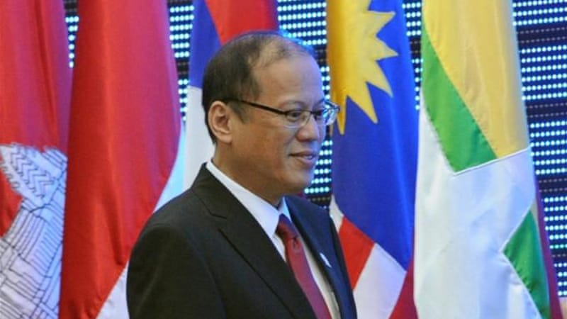 Philippine President Aquino disagrees with ASEAN line to not internationalise the South China sea problem [AFP]