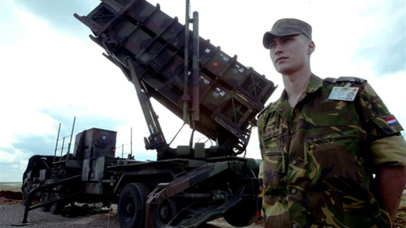 NATO has deployed Patriot missiles to Turkey twice before - in 1991 and again in 2003 - during both Gulf Wars [AFP]
