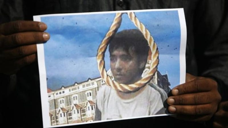 Mohammad Ajmal Kasab's execution by hanging was celebrated in many parts of India on Wednesday [Reuters]